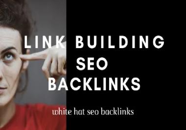 do 100 high authority backlinks, link building SEO service