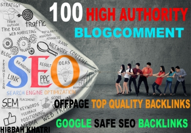 Submit 100 high authority doffollow backlinks google seo