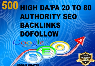 google rank site high quality DA/PA 20 to 90 blogcomment Seo backlink