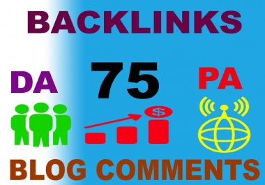 75 High authority DA, PA, TF, CF, dofollow backlink