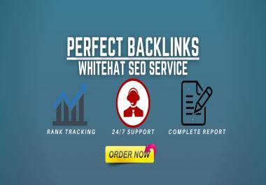 I will build ultra SEO contextual backlinks to improve website ranking