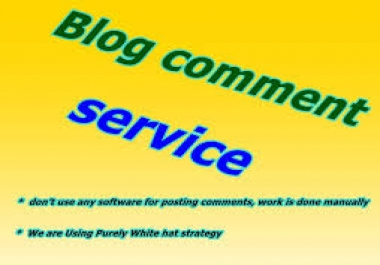 500 dofollow Blog comments backlinks for seo 8$