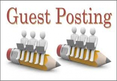 I will do 30 guest posts on high da pa backlinks sites