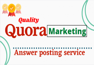 Get traffic from your targeted 52 Quality Quora Answers