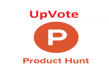 Provide you 30 producthunt votes for only fee
