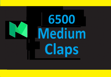6500+ Medium claps are from worldwide accounts and different ip addresses