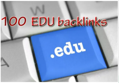 100 EDU Backlinks High Domain Authority Top Country Sites Manually Create