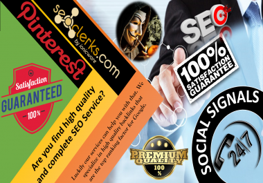 Special Offer , 15,000 Pinterest Share Social Signals Important For SEO Ranking