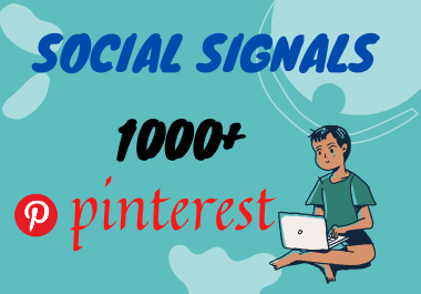 Viral Your Website Through 1000+ Pinterest Social Signals to Improve SEO Ranking.