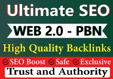 Get 55 Ultimate Web 2.0 and PBN Manual SEO Backlinks on DA 60+ Authority sites to Boosting Rank