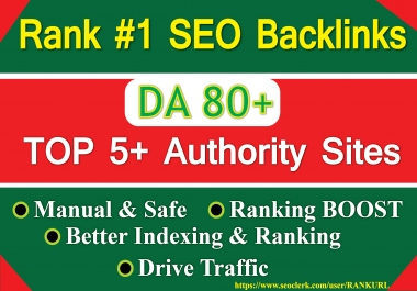 Boost your Website or Brand 30 SEO Backlinks by 5 Top Authority Sites- Bookmarking, SEO Signal