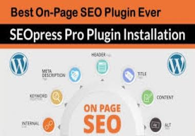 Install SEOPress Pro Premium Plugin On WordPress + Lifetime Updates