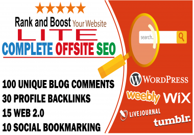 Complete offsite seo lite to rank your business