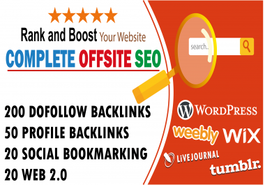 Do Complete offsite seo to rank your business