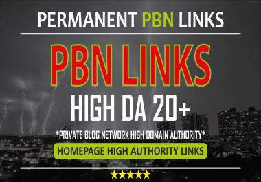 I will do 30 manual DR 40+ Homepage PBN Backlinks - Dofollow Quality PBN Backlinks