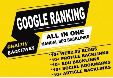 High Authority Manual Backlinks Tier 2 SEO link building