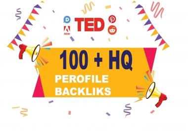I will do high authority 50 profile backlinks