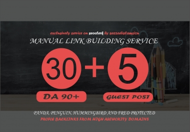 30 Pr9 + 5 Guest Post High Authority Backlinks Seo link building