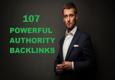 do107 powerful high authority backlinks for SEO