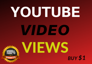 Fast 500+ Video Views High Retention & Lifetime Guarantee