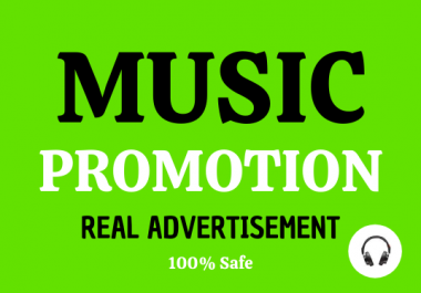 Real Music Promotion Streams Playlist/Artist