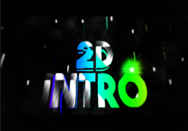 Create You An EYE CATCHY 2D Intro Videos In Panzoid Up to 20 Second