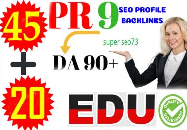 Top 70 PR10 to PR6 SEO Backlinks DA80+ With. EDU. Gov Links Boost Your Google Rank for $5