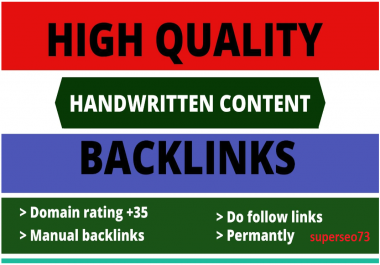 I will dutch SEO with manual 50 high quality contextual backlinks