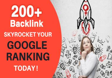 I Will Rank Google Higher By High DA/PR 200+ SEO Backlinks 2020 Best Results