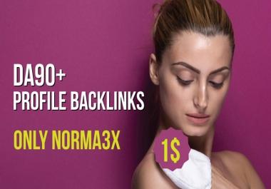 Manually DA 90+ All Pr9 30 Safe SEO High Profile Backlinks ONLY Norma3x
