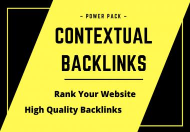 60 homepage CONTEXTUAL backlinks