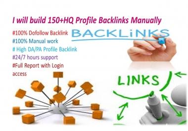 10 HQ Profile Backlinks Manually For Website Seo