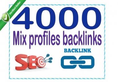 Create 4000 Mix profiles - Highly Authorized Backlinks
