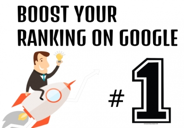 Boost your ranking on Google within 4 Weeks..