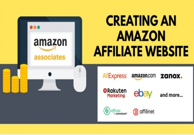 Create an Amazon store (Affiliate) WordPress Website that content auto posting.