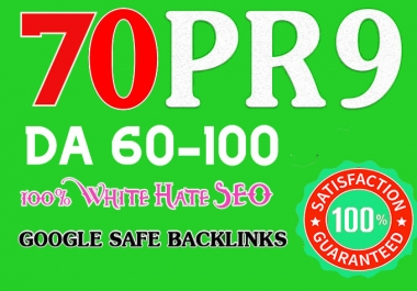 Manually 70 Pr9 High SEO Authority Backlinks - Fire Your Google Ranking
