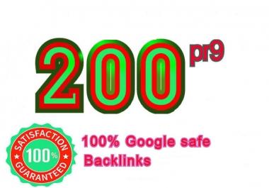 I Will Manually Create 200 pr9 SEO Authority Backlinks Service - Fire Your Google Ranking