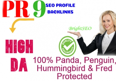 I Will Manually Create 200 pr9 SEO Authority Backlinks Service - Fire Your Google Ranking