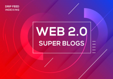 create 10 manually web 2 0 super blogs with login contextual backlinks