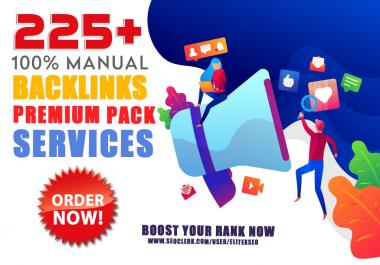 225 Dofollow SEO Backlinks on High DA site to Rank you first on Google