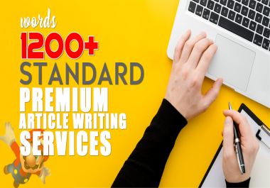 1200 Words Premium Native Article Writing Service