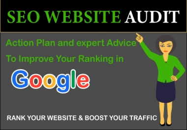 provide SEO audit and advice on how to optimize it