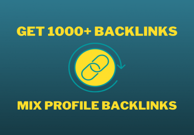 1000+ Social Networks and Forum Profile Seo Backlinks Which from High DA Sites