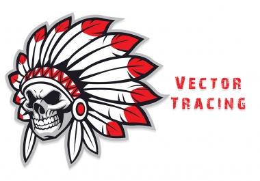 Do Vector Tracing & Redraw a logo