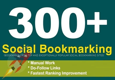 I will create 300 bookmark of social sites SEO backlinks