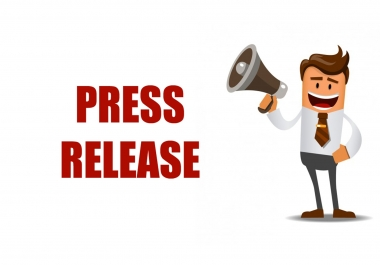 i will Publish High Quality Press Release with Backlinks