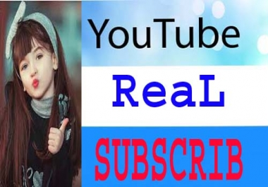 Real you tube sub non drop directed from Worldwide