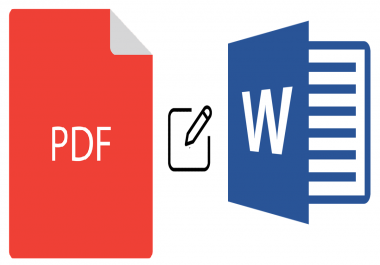 I will create or edit your pdf or word document in 4 hours