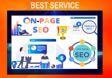 I will do on page SEO and technical on page optimization of wordpress website with yoast/rank math