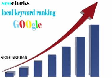 4 local keyword ranking google first page
